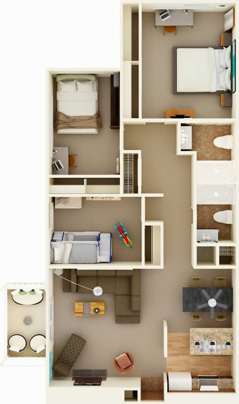 1 2 3 Bedrooms For Rent Wichita Ks